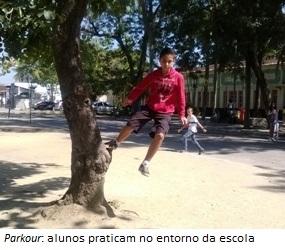 Esportes radicais  ação e aventura na escola 6f9bafde7c6