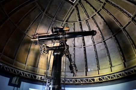 7bb0d381ac6 Observação do céu com lunetas e telescópio no Museu de Astronomia e  Ciências Afins (Foto  Alexandre Macieira Riotur). 5) Circuito Energia